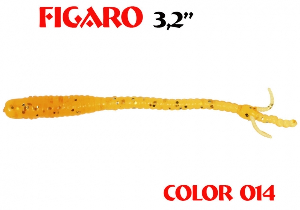 Dreambait II Figaro 80mm Farbe Crazy Orange