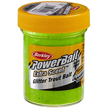 Berkley Powerbait Natural Scent Chartreuse Garlic