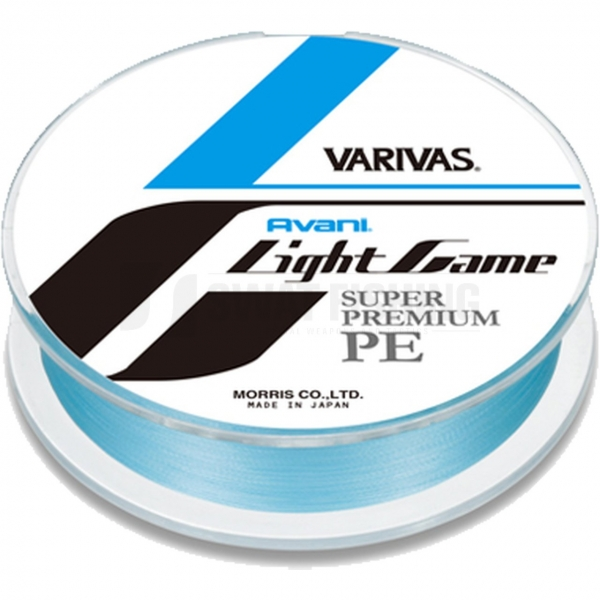 Varivas Avani Light Game, 150 m - PE 0,4, max. 8,5 lb, ave 8,5 lb