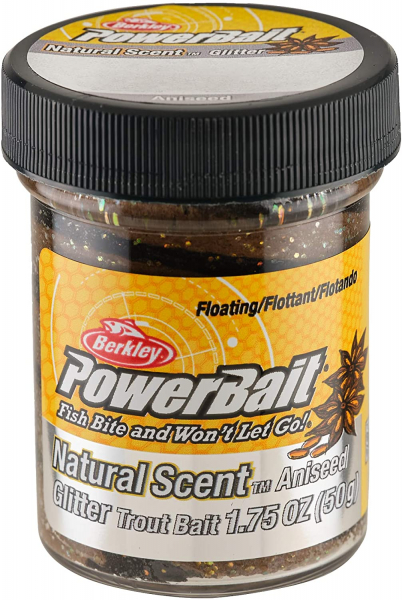 Berkley Powerbait Natural Scent Black & Brown Anis