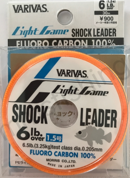 Light Game Shock Leader 3,25Kg